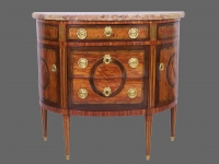 Commode demi lune 1
