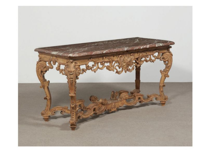 Table-console Louis XIV  Vendu : 38 640 €